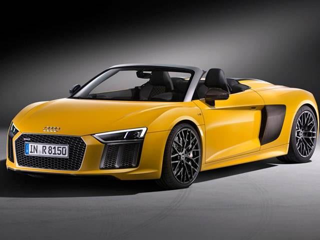 Audi R V Spyder New Car Prices Kelley Blue Book - Audi r8 convertible