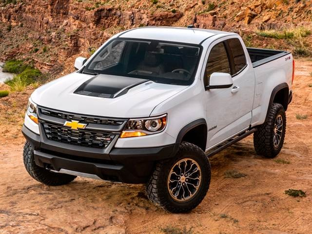 Best Safety Rated Trucks of 2018 - 2018 Chevrolet Colorado Extended Cab