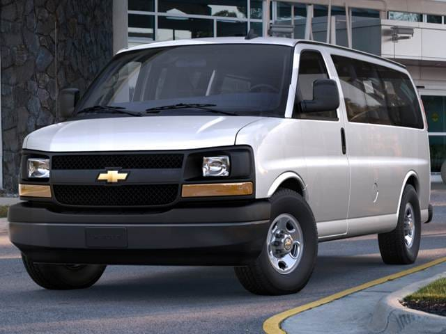 Most Popular Vans/Minivans of 2018 - 2018 Chevrolet Express 2500 Passenger