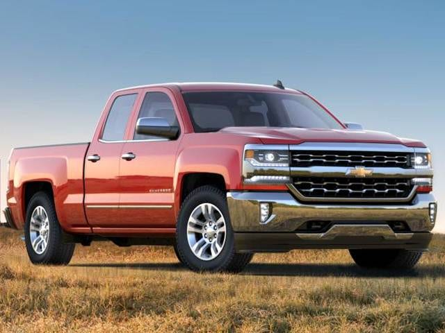 Highest Horsepower Trucks of 2018 - 2018 Chevrolet Silverado 1500 Double Cab