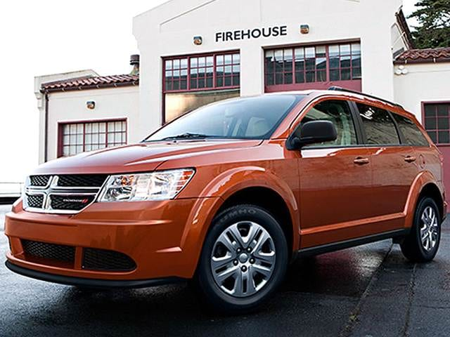 Most Popular Crossovers of 2018 - 2018 Dodge Journey