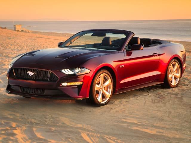 Highest Horsepower Convertibles of 2018 - 2018 Ford Mustang