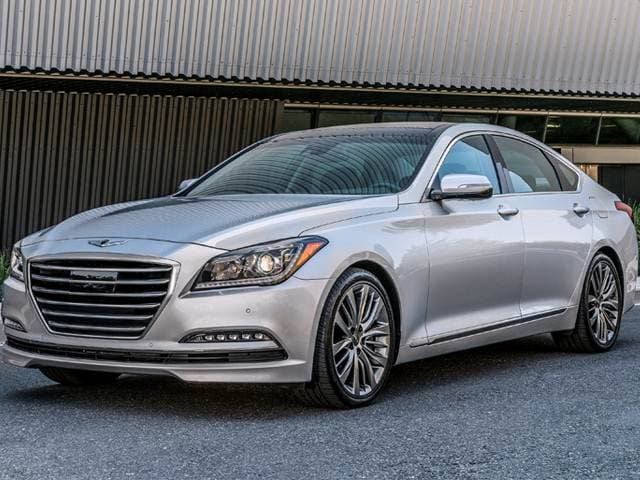Best Safety Rated Sedans of 2018 - 2018 Genesis G80