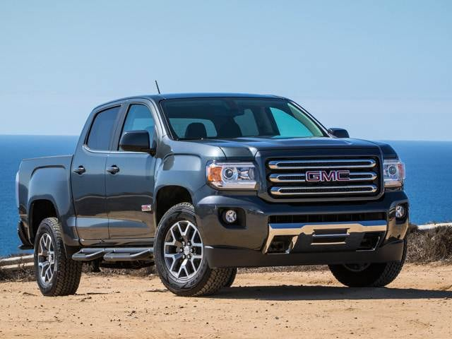 Top Consumer Rated Trucks of 2018 - 2018 GMC Canyon Crew Cab