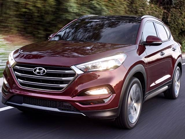 Best Safety Rated SUVs of 2018 - 2018 Hyundai Tucson