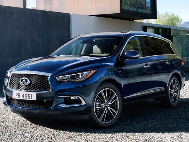 Best Safety Rated SUVs of 2018 - 2018 INFINITI QX60