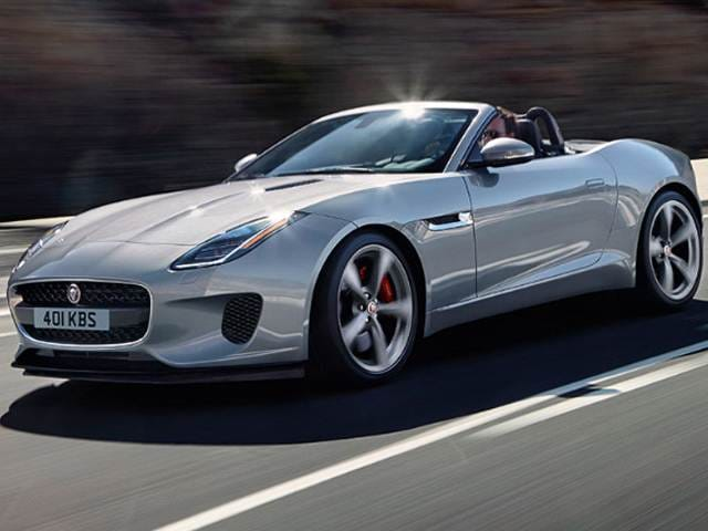 Top Consumer Rated Convertibles of 2018 - 2018 Jaguar F-TYPE