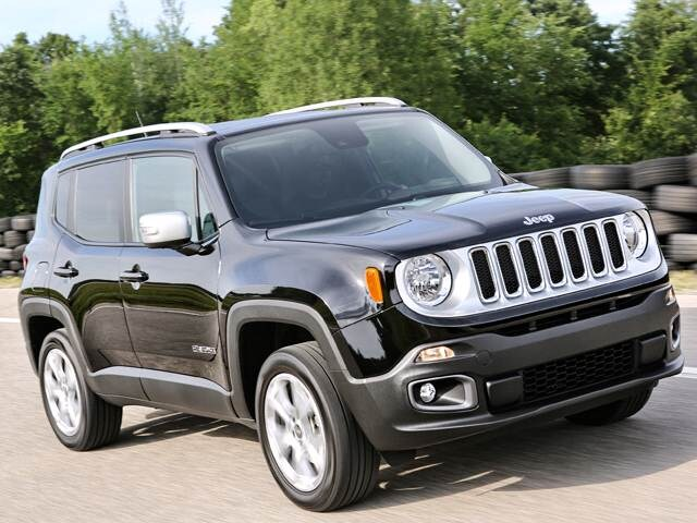 2018 Jeep Renegade Limited Sport Utility 4D Used Car