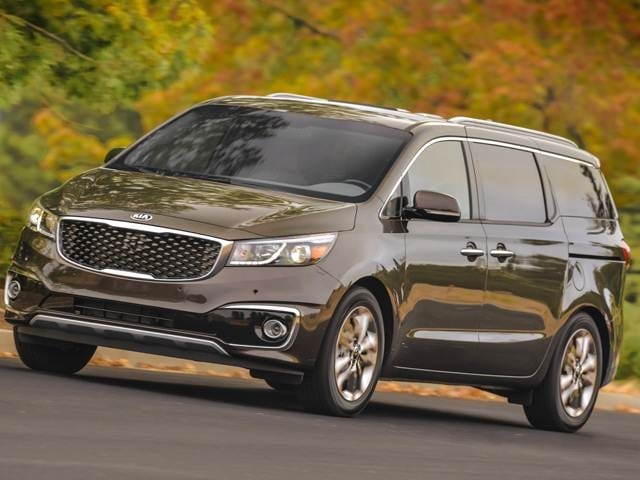 Most Fuel Efficient Vans/Minivans of 2018 - 2018 Kia Sedona