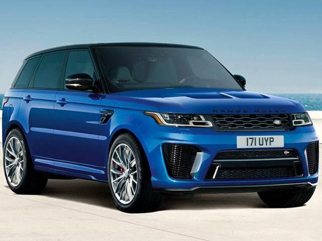 2018 land rover range rover sport svr new car prices kelley blue book. Black Bedroom Furniture Sets. Home Design Ideas