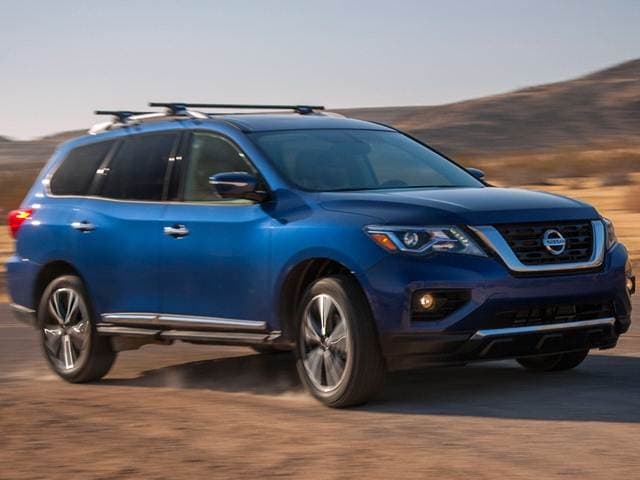 Best Safety Rated SUVs of 2018 - 2018 Nissan Pathfinder