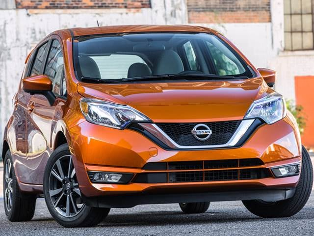 Most Popular Sedans of 2018 - 2018 Nissan Versa Note
