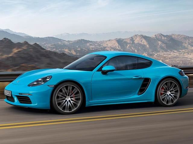 Top Consumer Rated Luxury Vehicles of 2018 - 2018 Porsche 718 Cayman