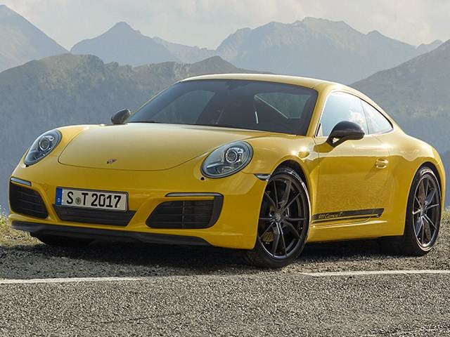 Most Popular Coupes of 2018 - 2018 Porsche 911