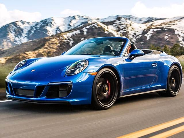 Top Consumer Rated Convertibles of 2018 - 2018 Porsche 911
