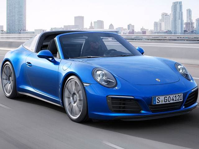New Car 2018 Porsche 911 Targa 4S