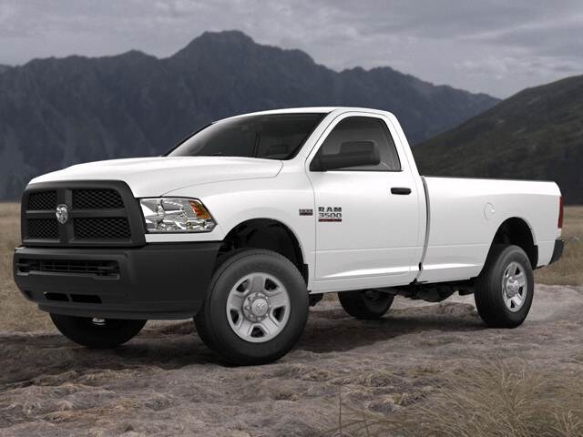 New Car 2018 Ram 3500 Regular Cab Tradesman